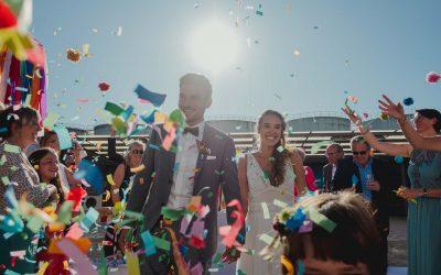 Eine bunte Hochzeit im Loft Eins Frankfurt am Main