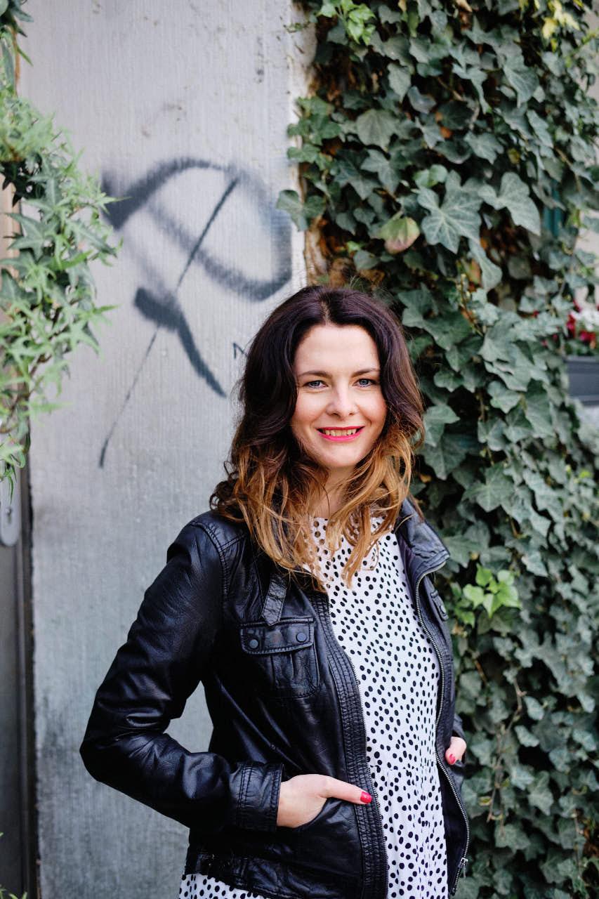 Business Portrait mit Annika Gründerin von Wikivents